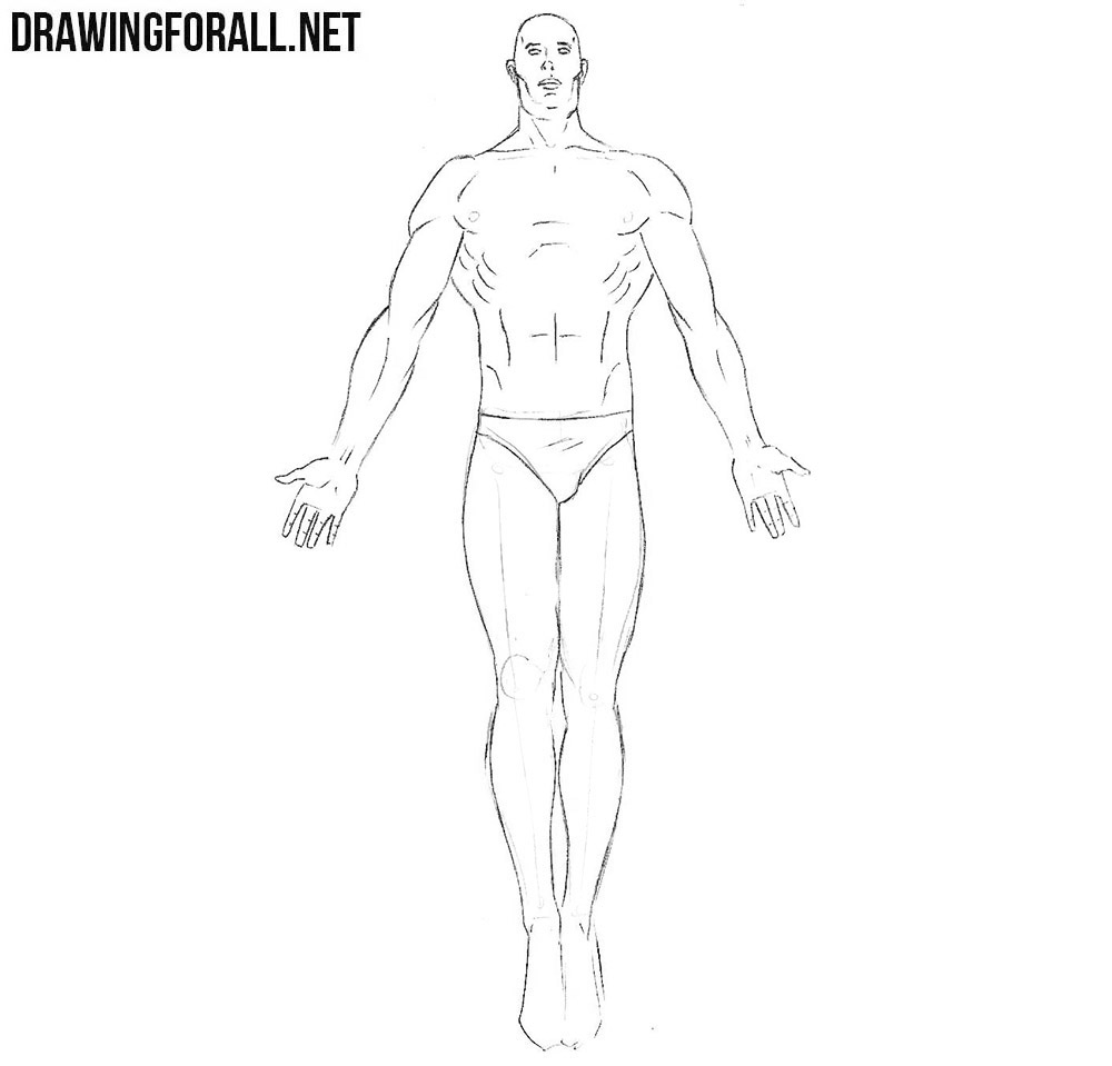 how to draw dr manhattan from watchman