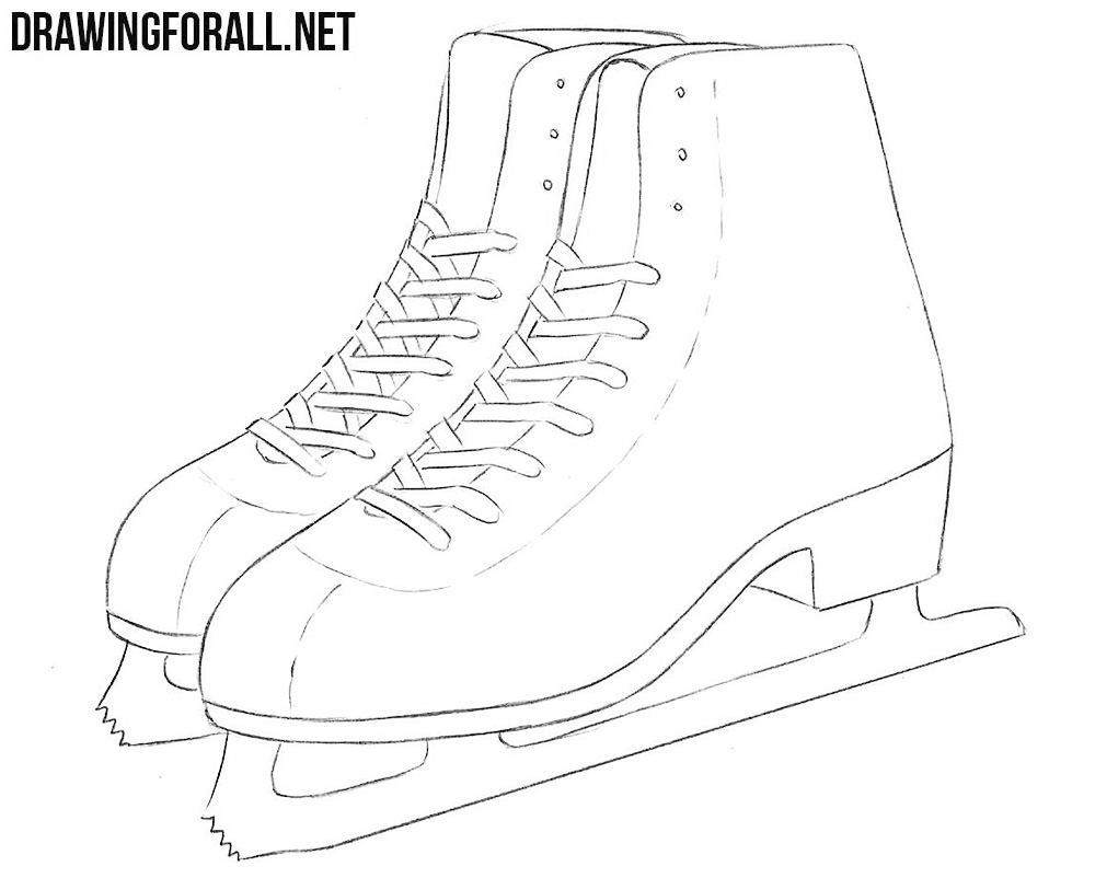 Ice Skates Shoes Tutorial