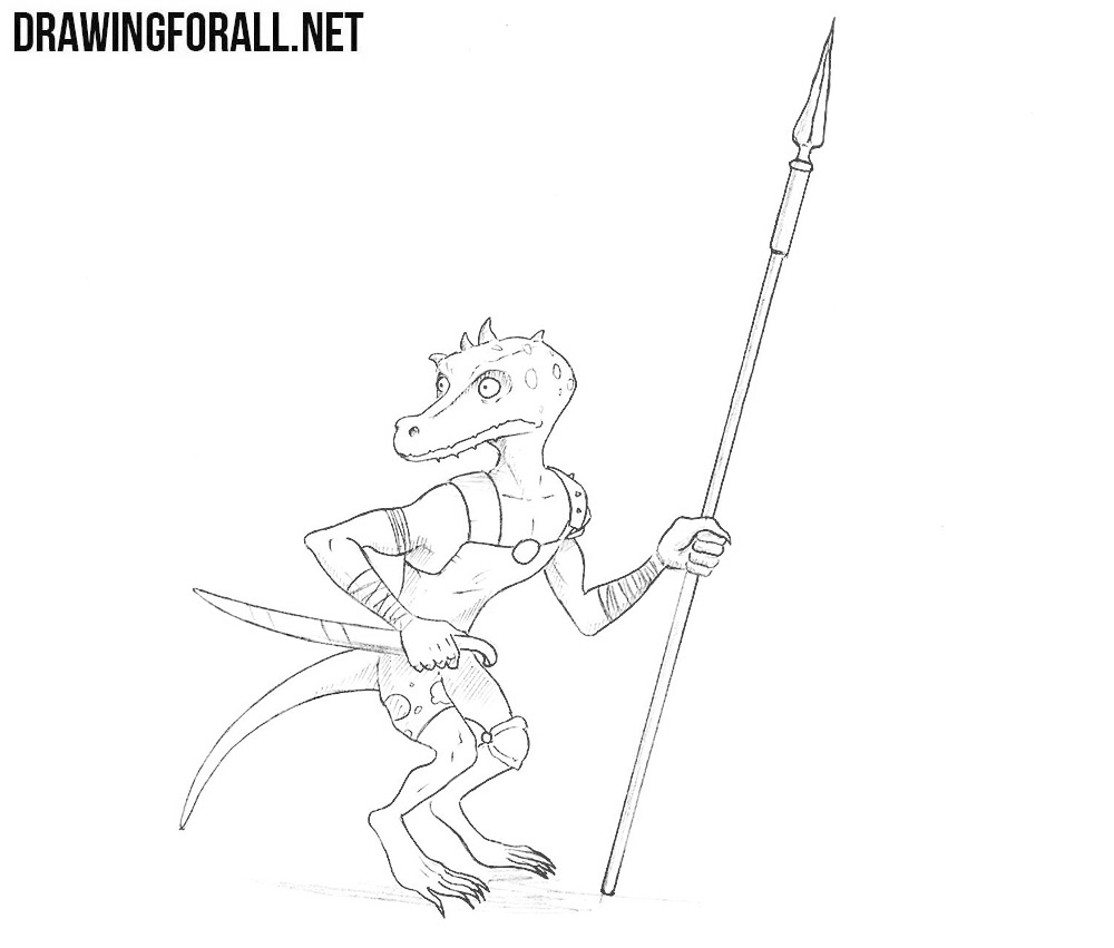 Kobold drawing