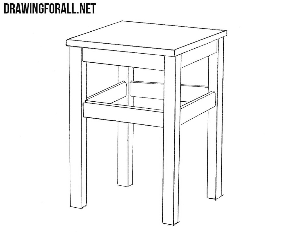 Stool drawing