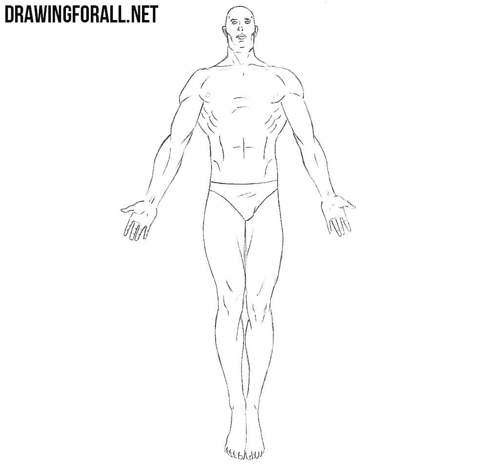 dr manhattan drawing