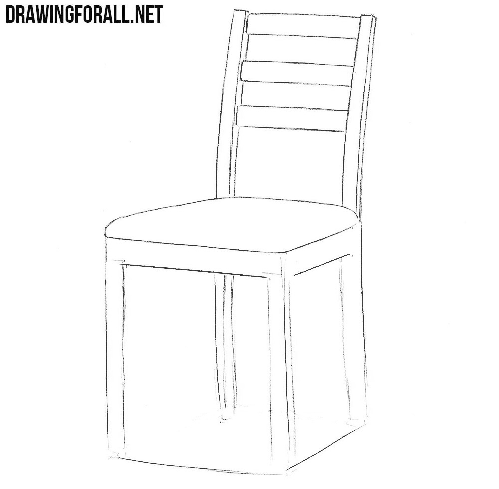 easy to draw chair