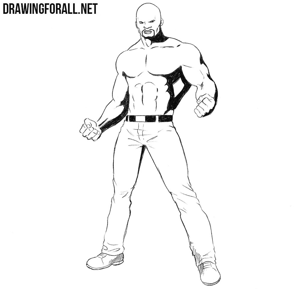 Luke Cage drawing