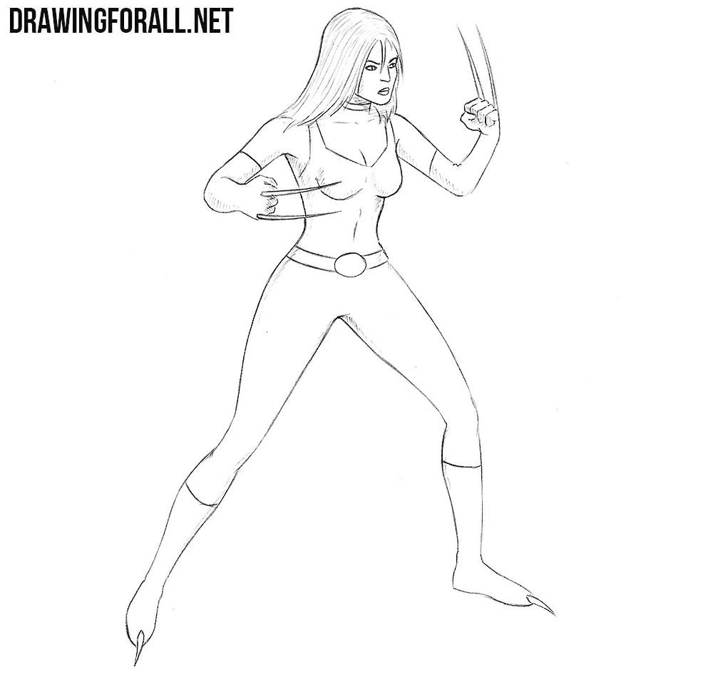 X-23 drawing