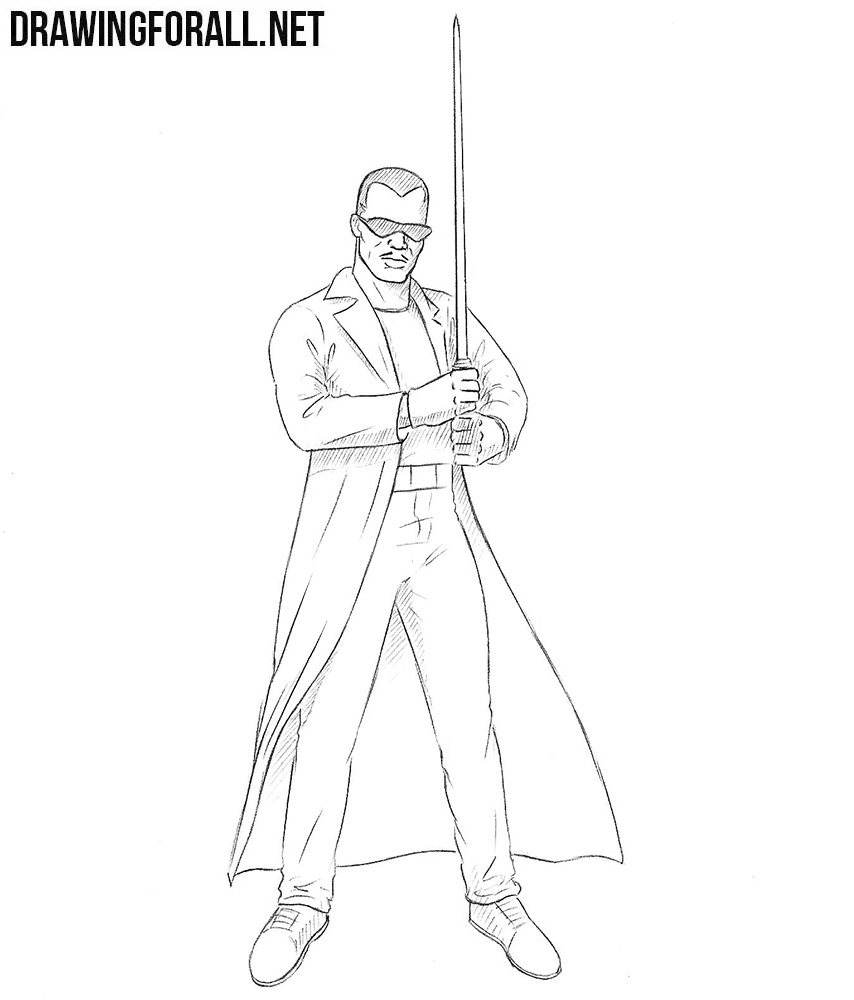 how to draw Blade