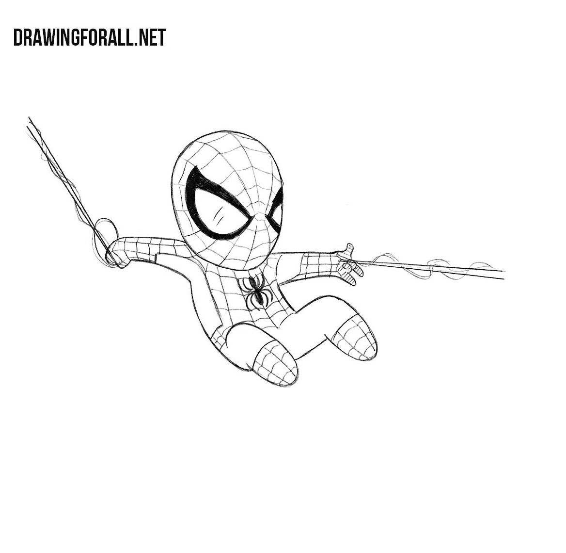 How to Draw Chibi Spider-man