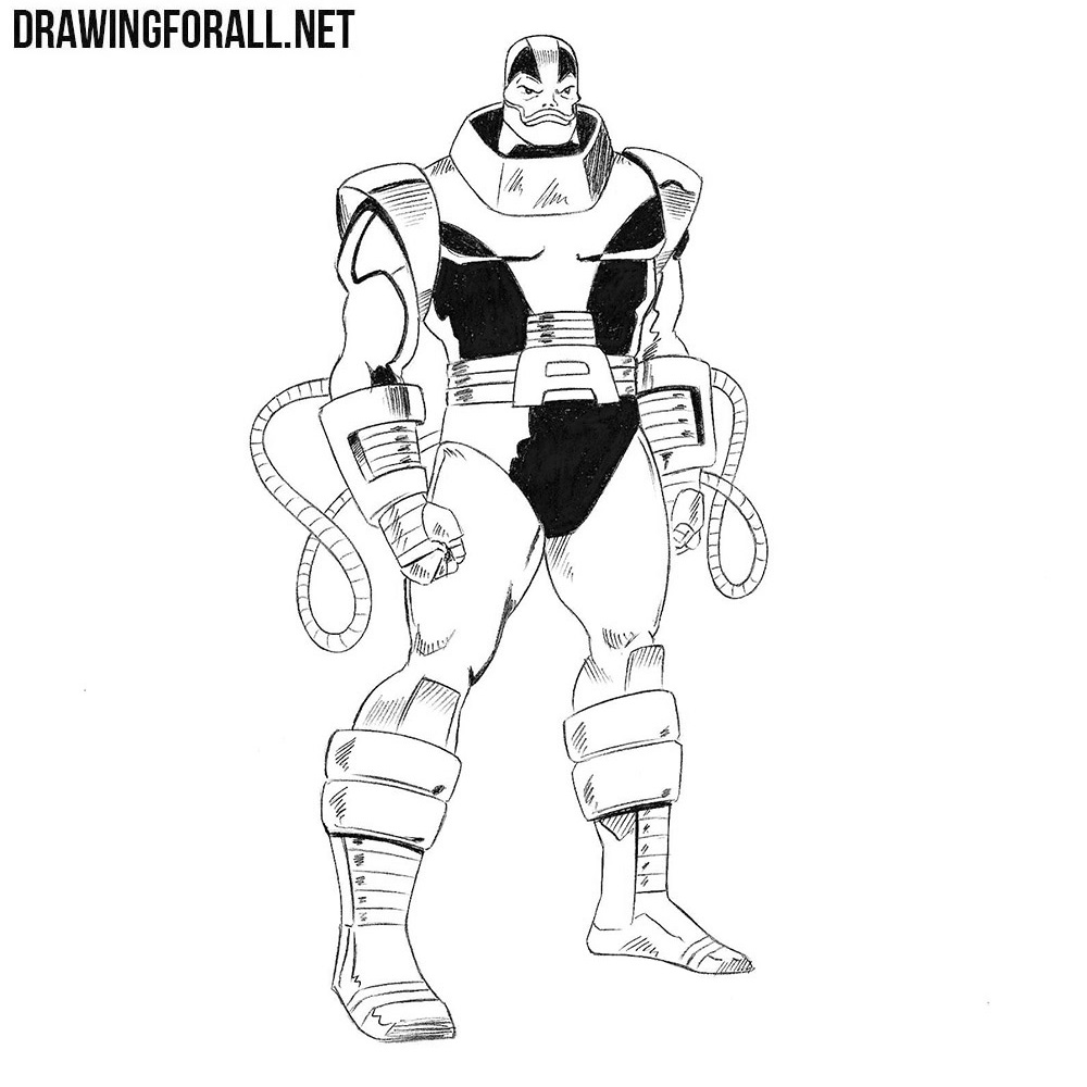 How to Draw Apocalypse from Marvel