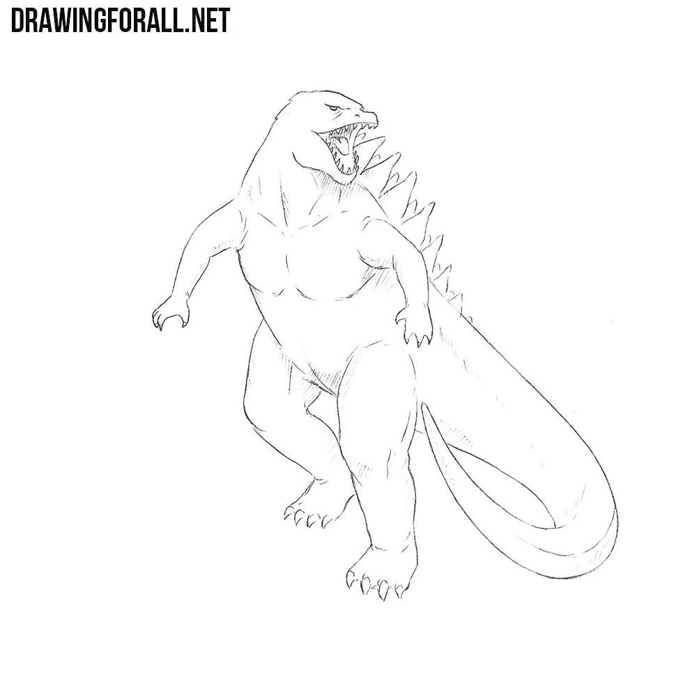 How to Draw a Godzilla