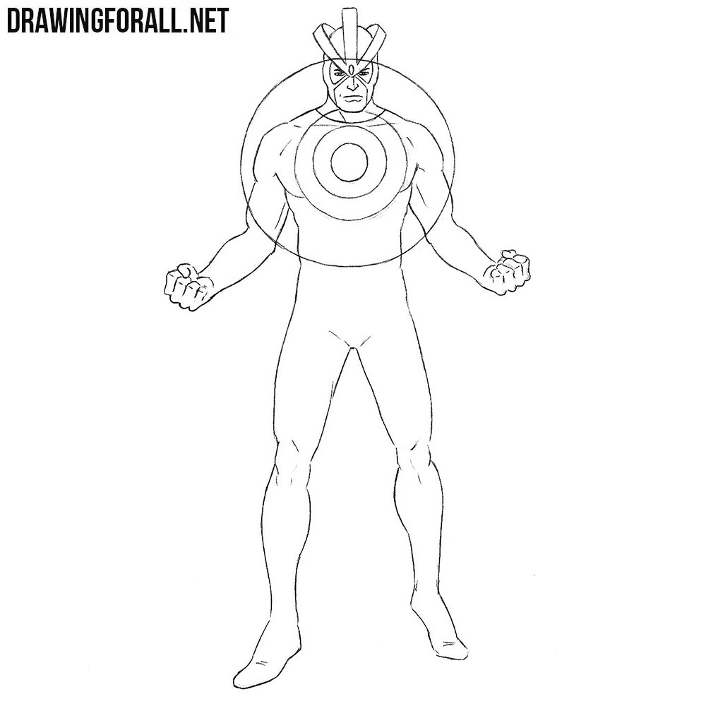 How to Draw Havok from Marvel