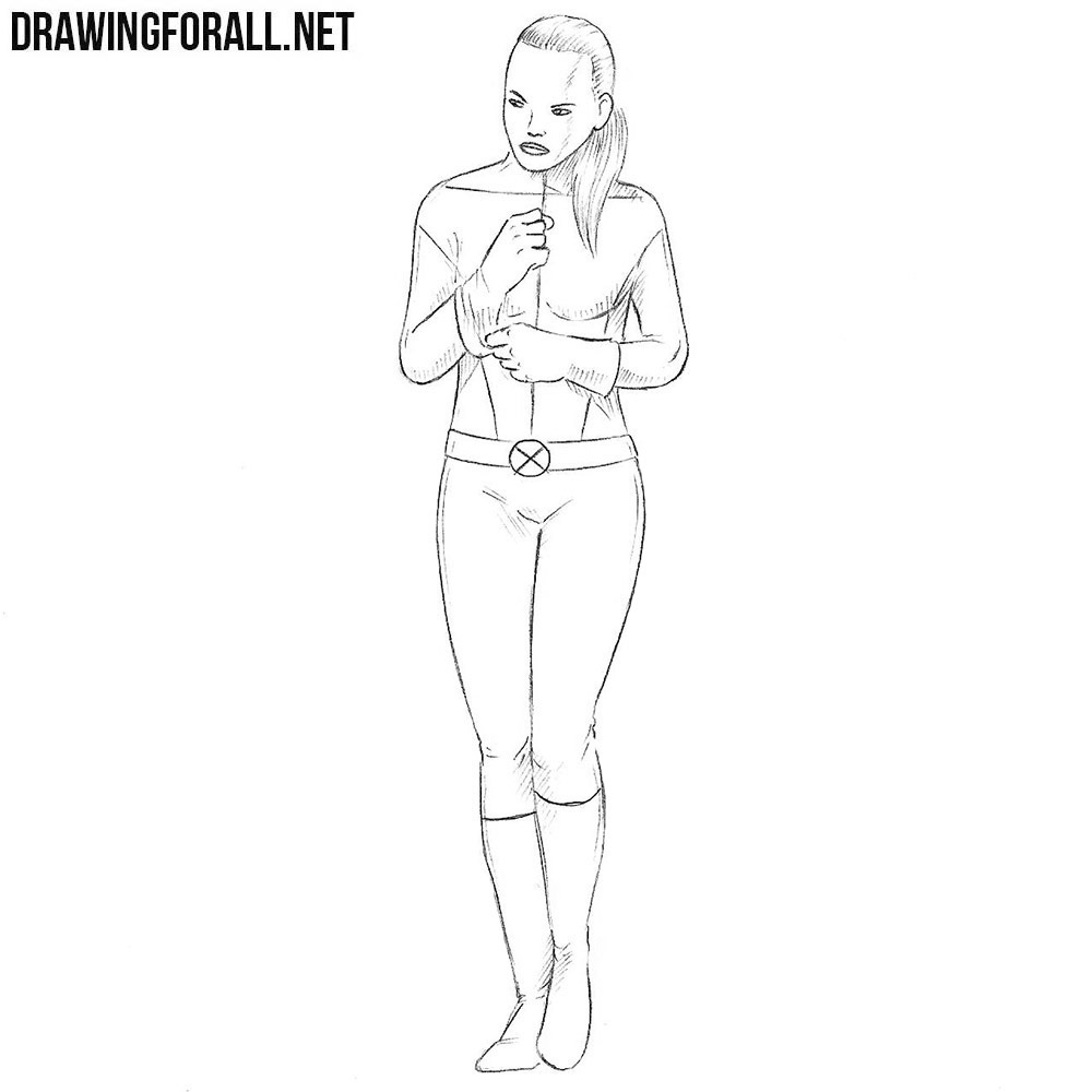 How to Draw Kitty Pryde
