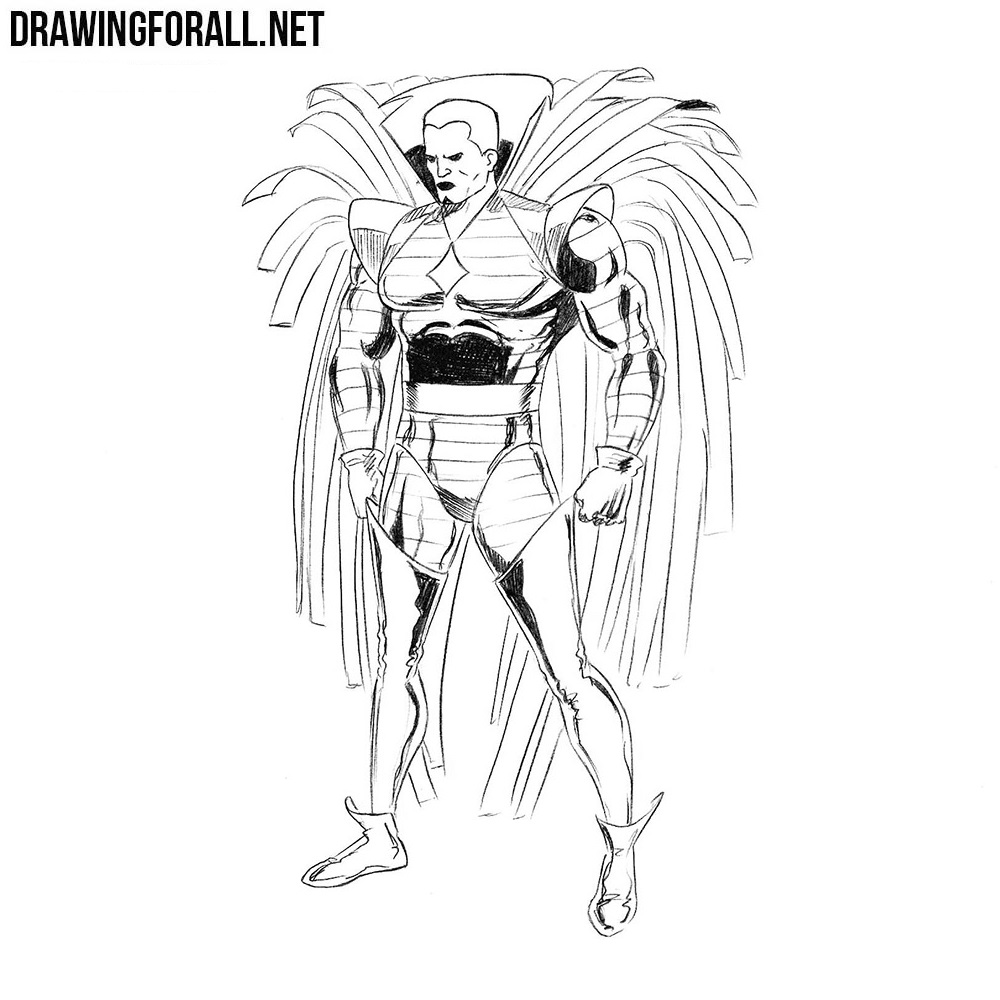 How to Draw Mister Sinister