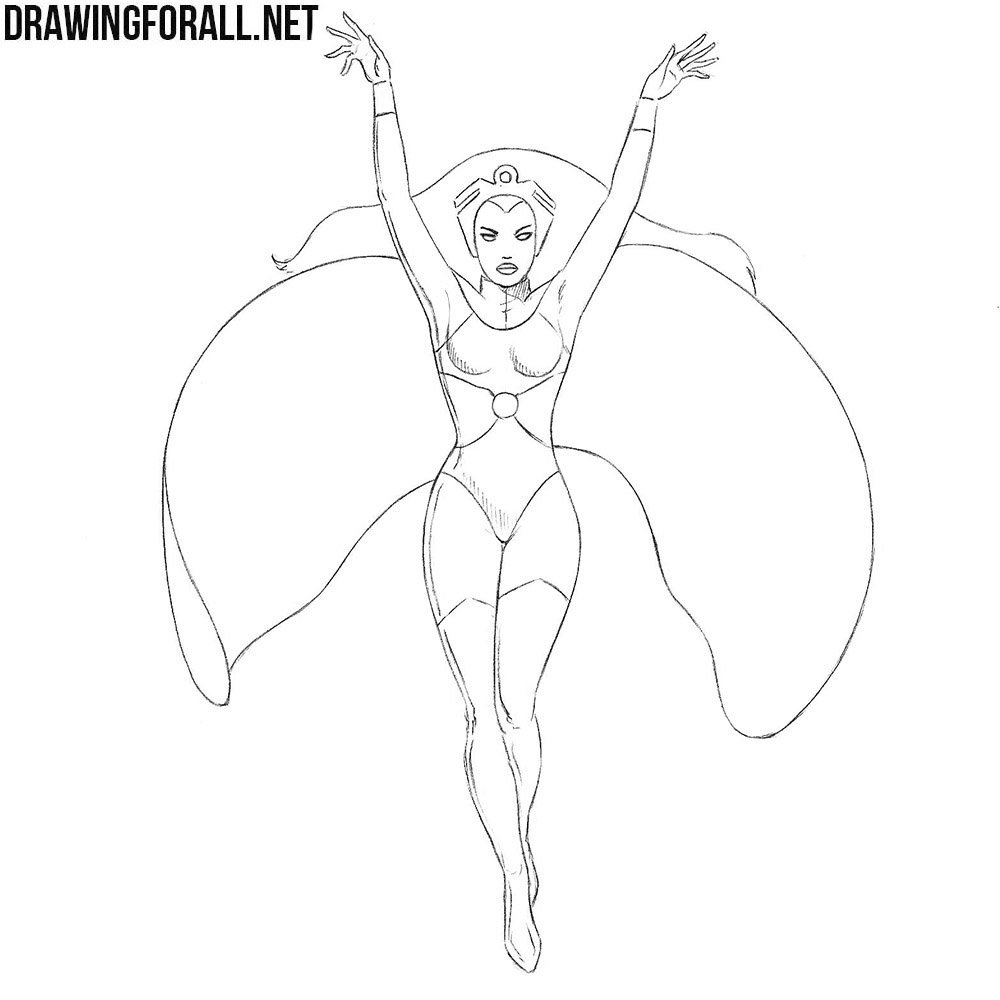 How to Draw Storm from X-Men