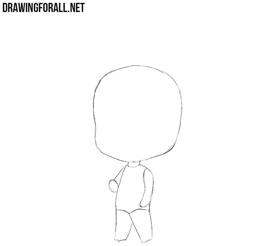 How to draw a Chibi boy step by step