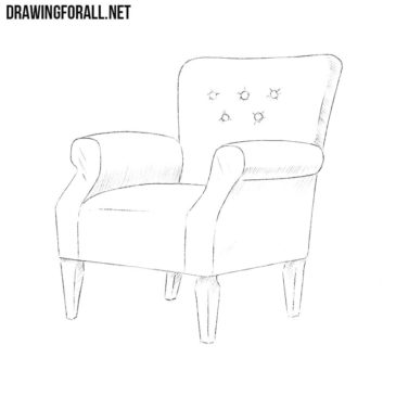 How to Draw an Armchair