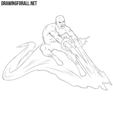 How to Draw Iceman