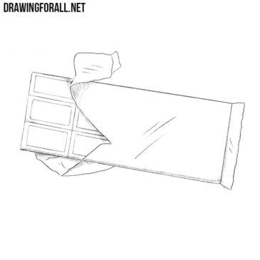 How to Draw a Chocolate Bar