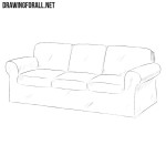 How to Draw a Couch