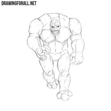 How to Draw a Stone Golem