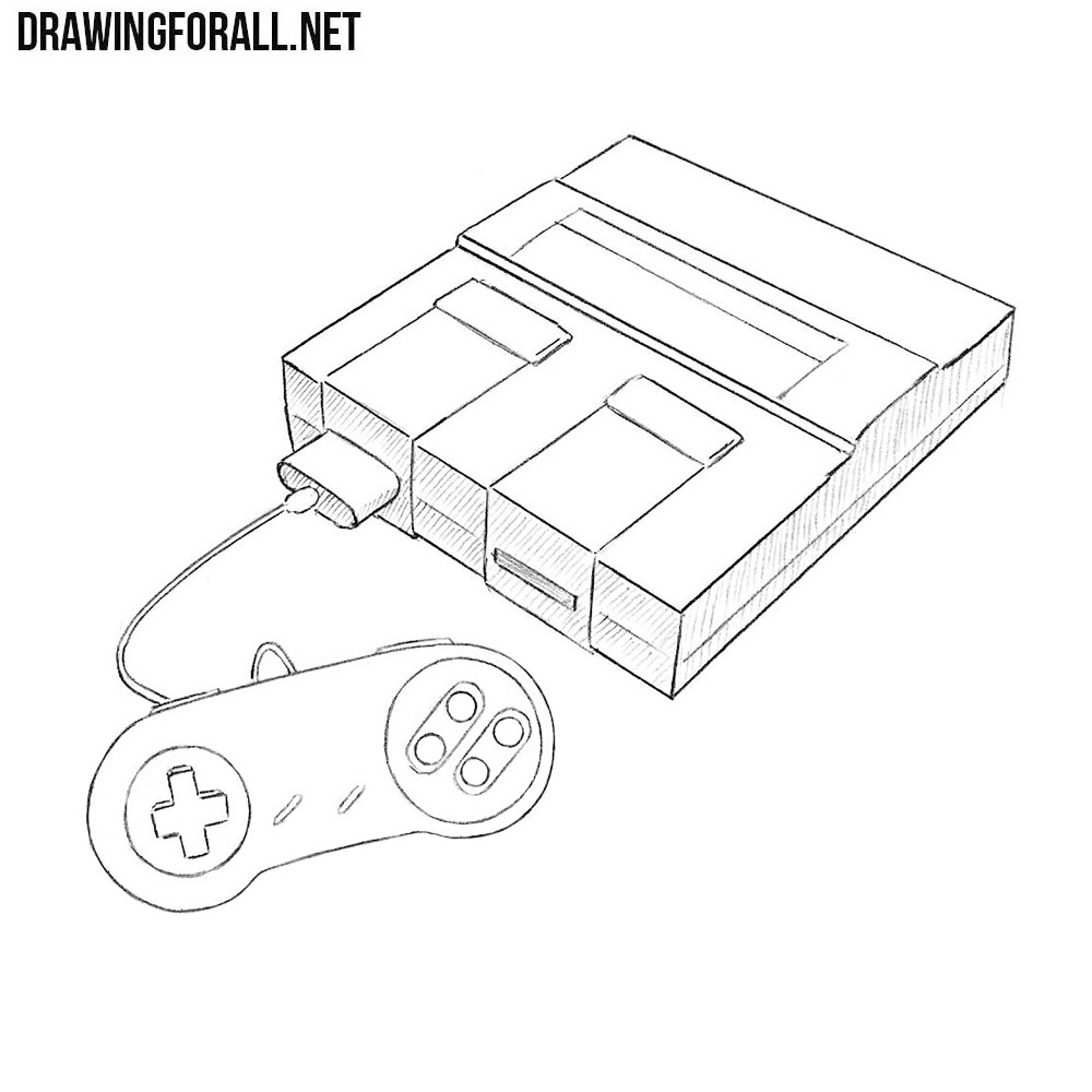 How To Draw A Super Nintendo Wiring Diagram
