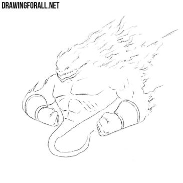 How to Draw a Fire Elemental