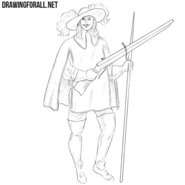 How to Draw a Musketeer