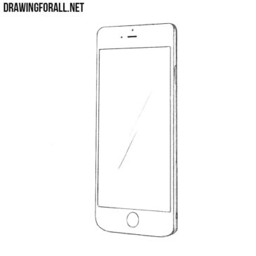 How to Draw a Phone Step by Step