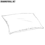 How to Draw a Pillow