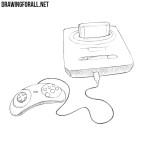 How to Draw a Sega Genesis