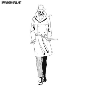 How to Draw Rorschach