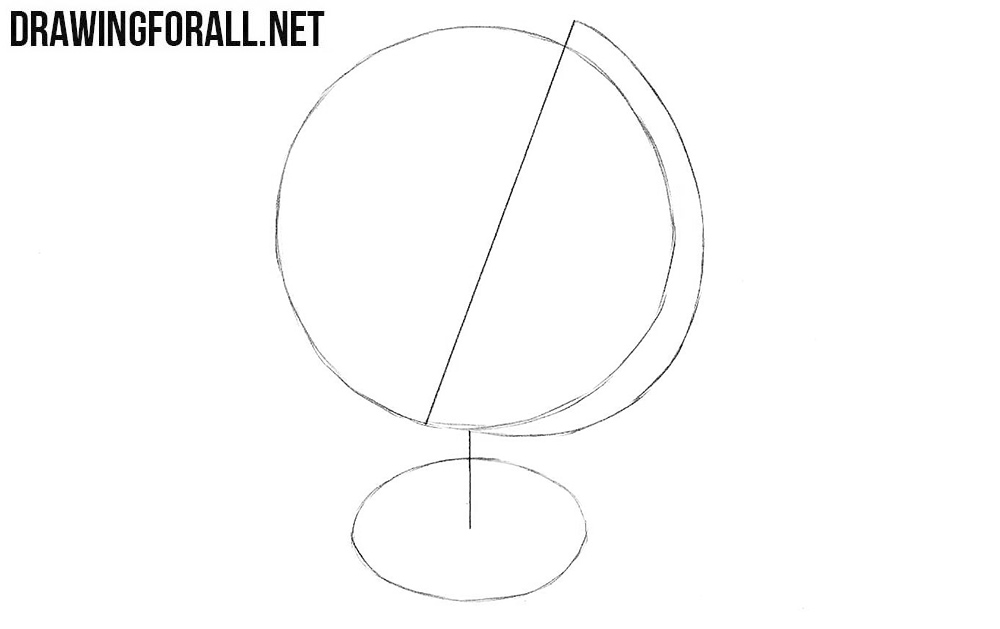 How to sketch a globe