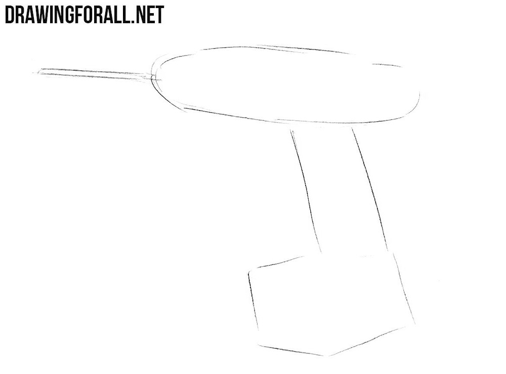 Learn how to draw a drill