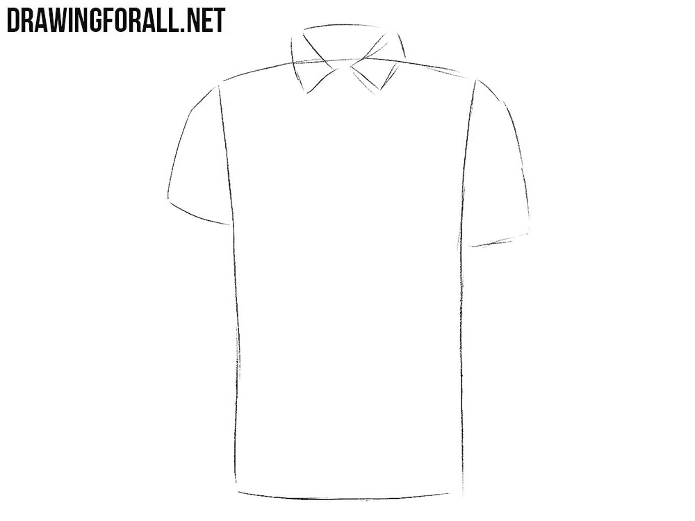 Learn how to draw a polo shirt