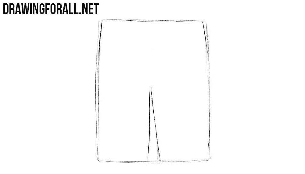 Learn how to draw shorts step by step