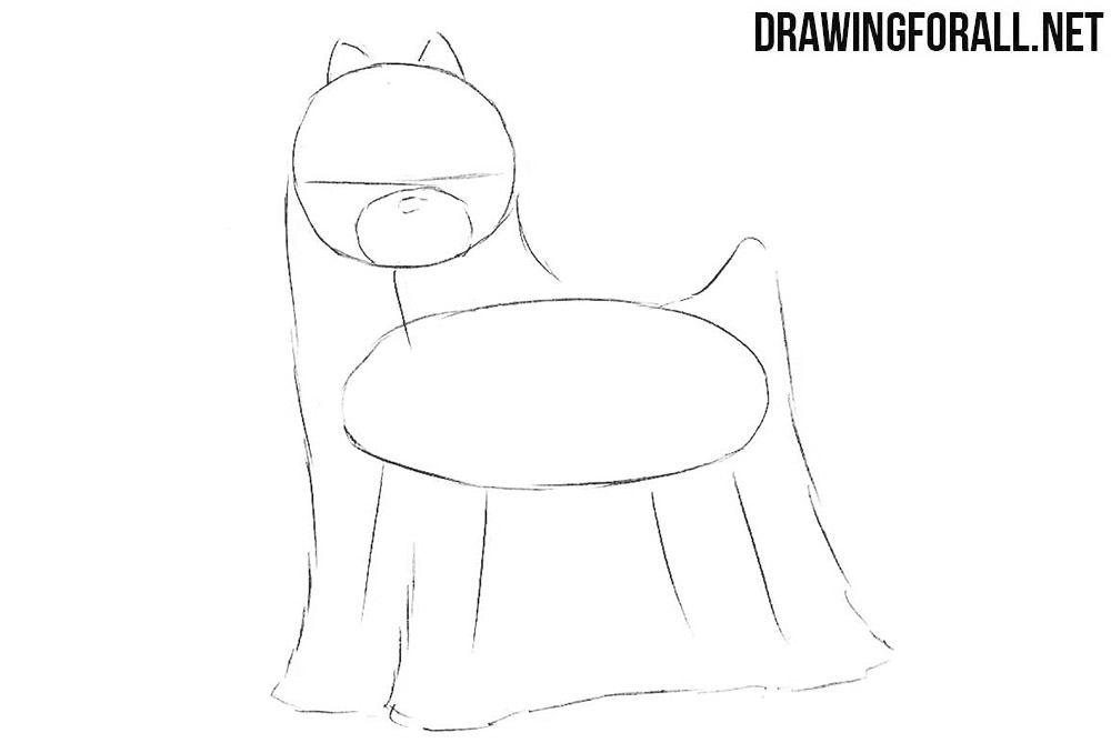 Learn to draw a dog
