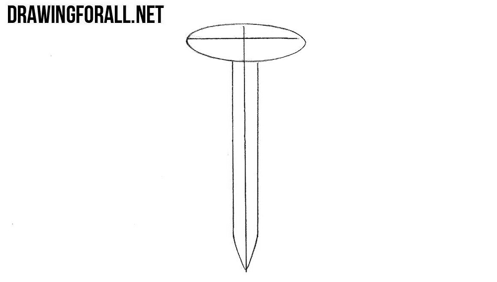 Learn to draw a screw