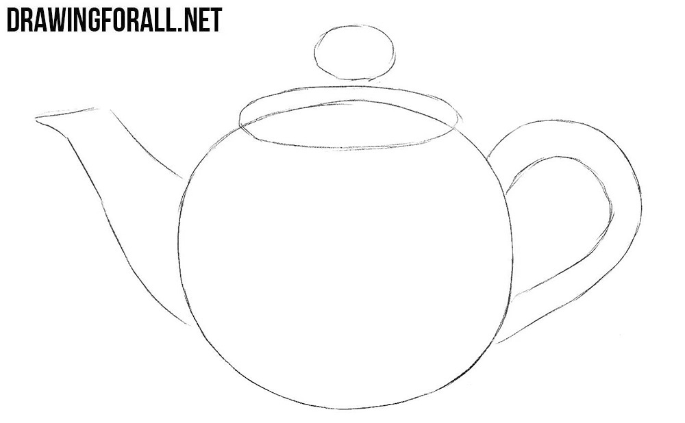 Learn to draw a teapot