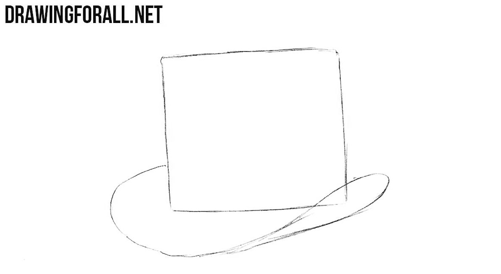 2 Learn to draw a top hat