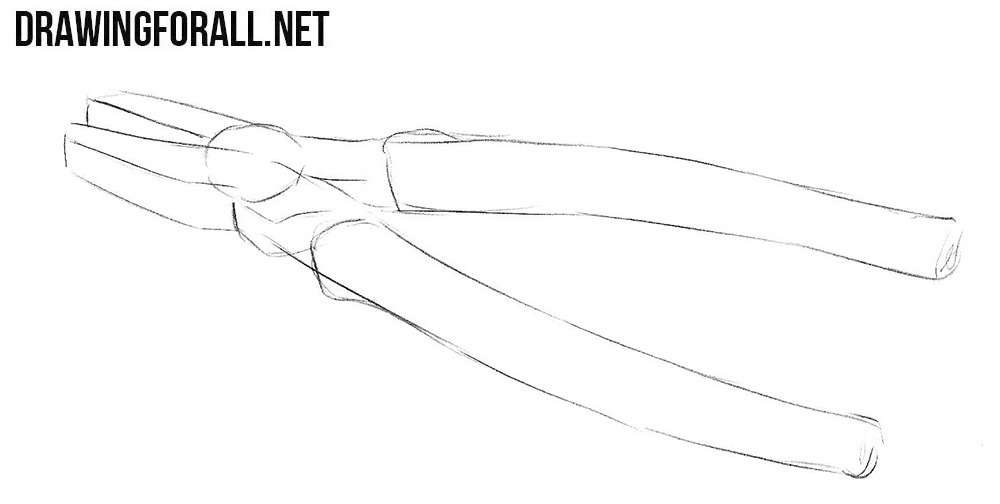 Learn to draw pliers