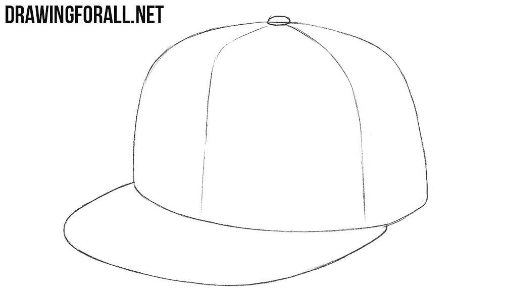 How to draw a new era cap