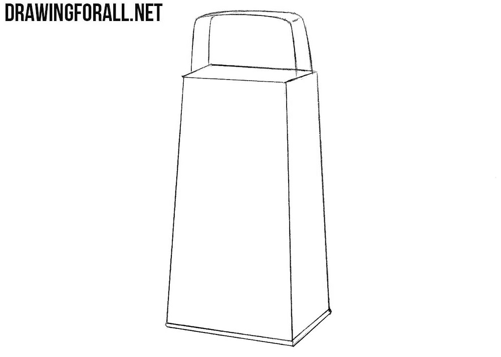 How to draw grater easy