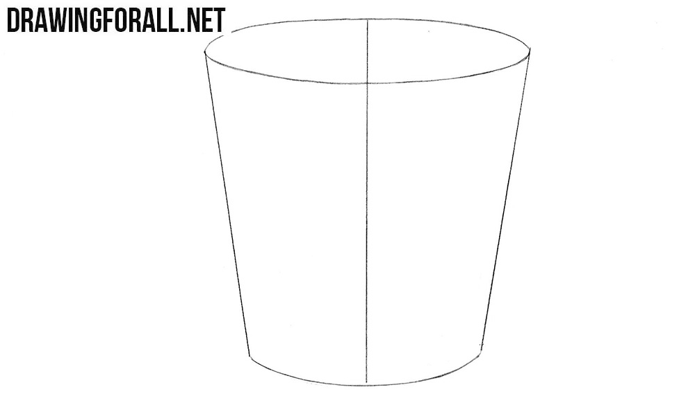 Learn how to draw a bucket