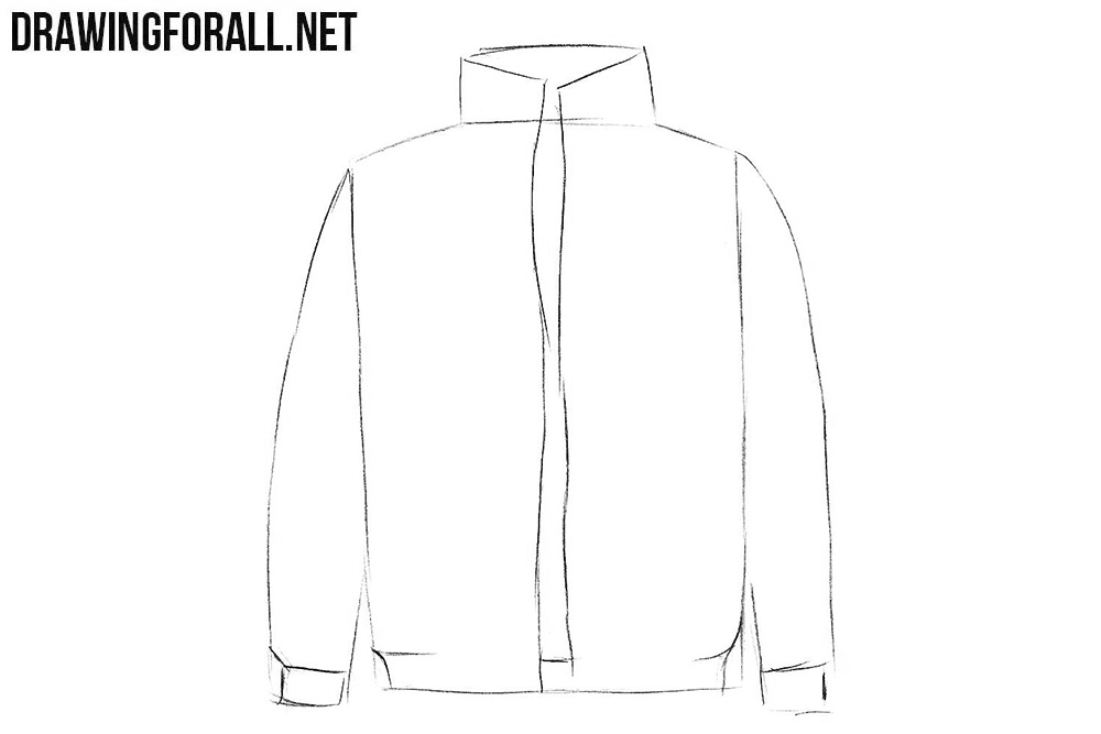 Learn how to draw a jacket