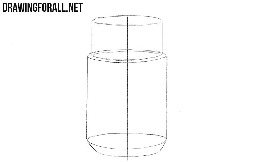 Learn how to draw a jar