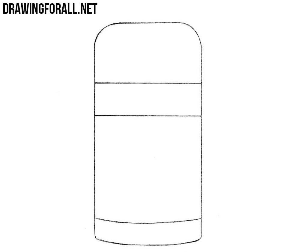 Learn how to draw a thermos