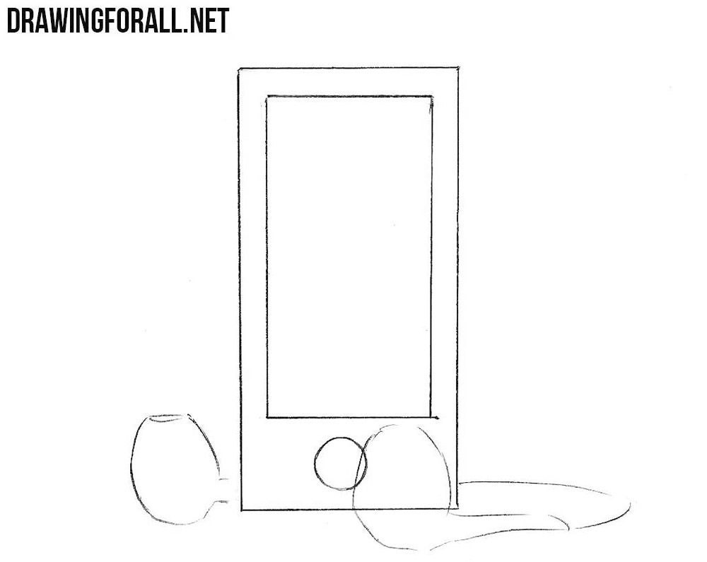 how to sketch an MP3 player