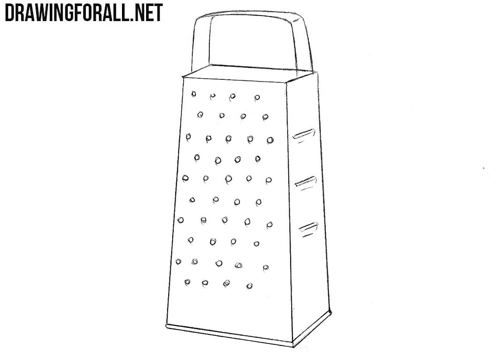 Grater drawing