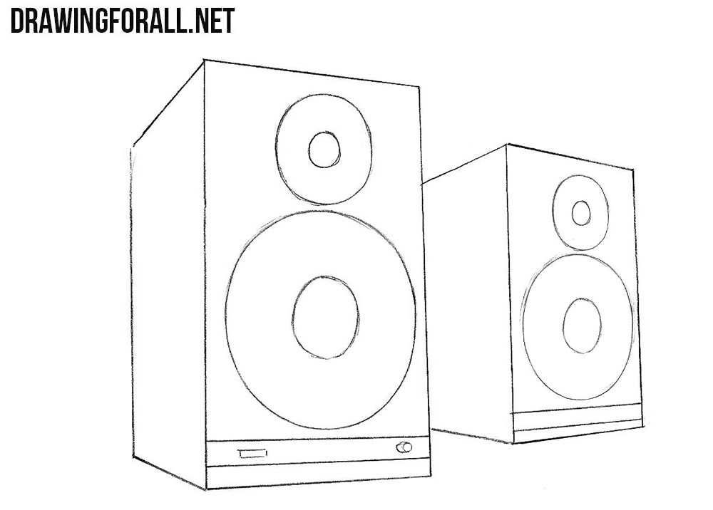 How to draw How to Draw speakers