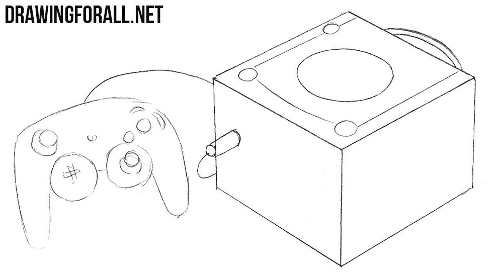 How to draw a GameCube