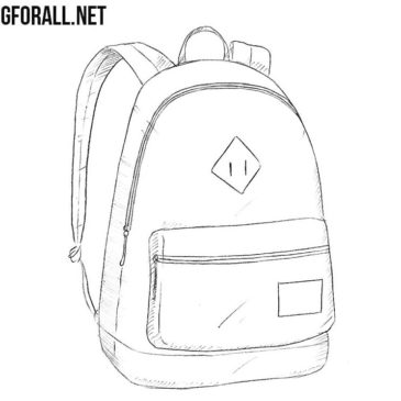 How to Draw a Backpack