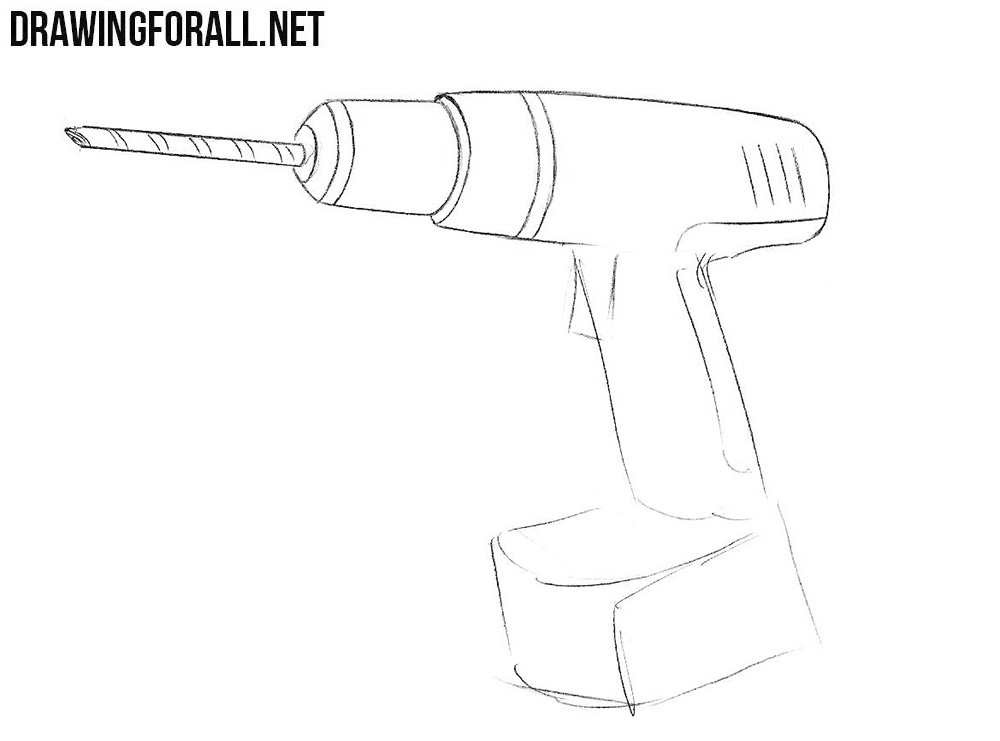 How to sketch a drill